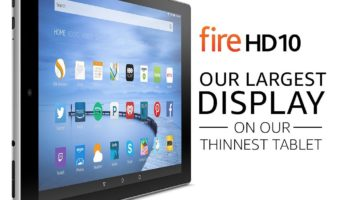 The Remainder of Fire HD 10s from Amazon Being Fired Out while Supplies Hold Out