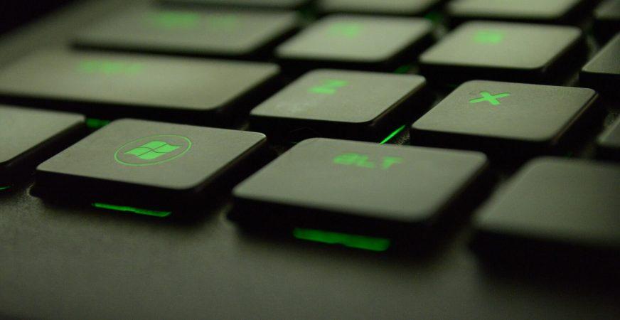 Gaming keyboard 2018