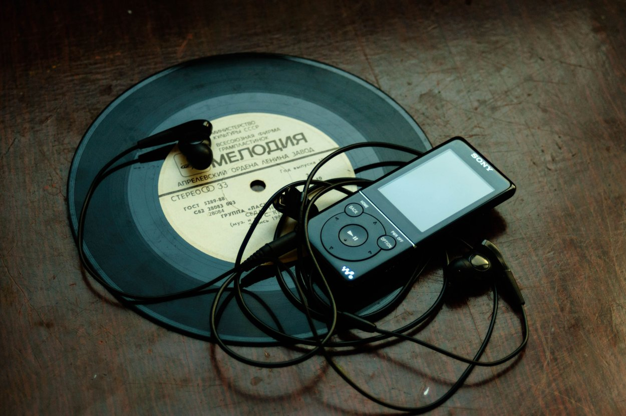 MP3 Player | Sumber: Unsplash