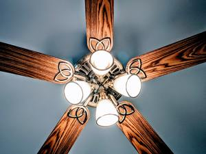Dust Ceiling Fan