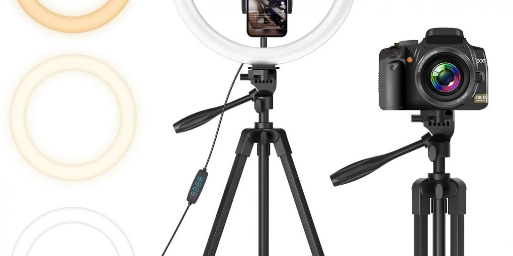 Best Ring Light for YouTube, Vlogging, TikTok, Makeup and Photography